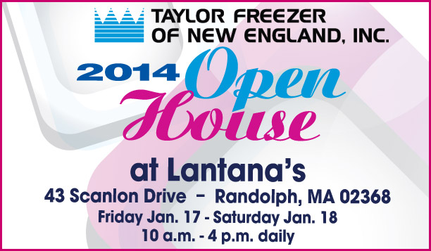 You're invited to the Taylor Freezer of New England 2014 Open House