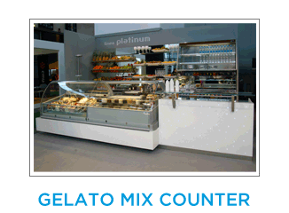 Gelato Mix Counter