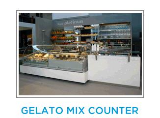 Gelato Mix Counter