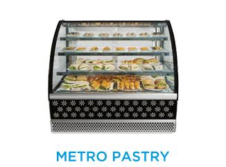 Metro Pastry Cases
